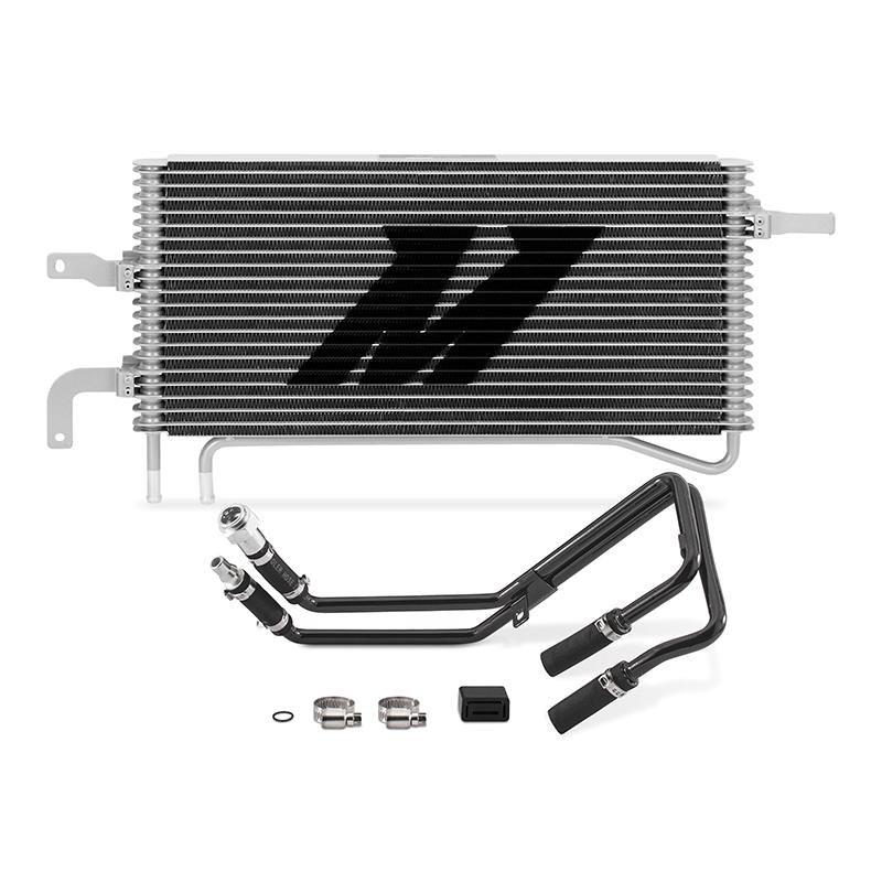 Chłodnica oleju skrzyni biegów Mishimoto Ford Mustang GT/V6/EcoBoost 2015-2017 (automat) - GRUBYGARAGE - Sklep Tuningowy